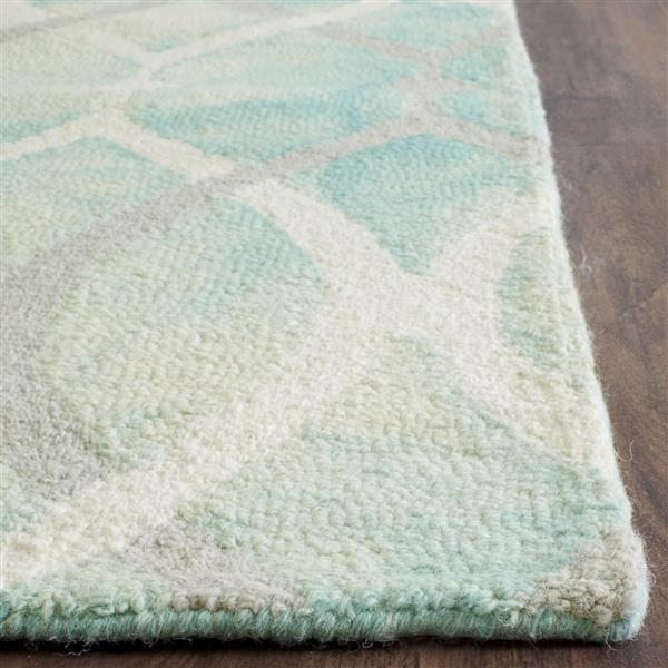 Safavieh Dip Dye Rug - 2' x 3' - Wool - Green/Ivory
