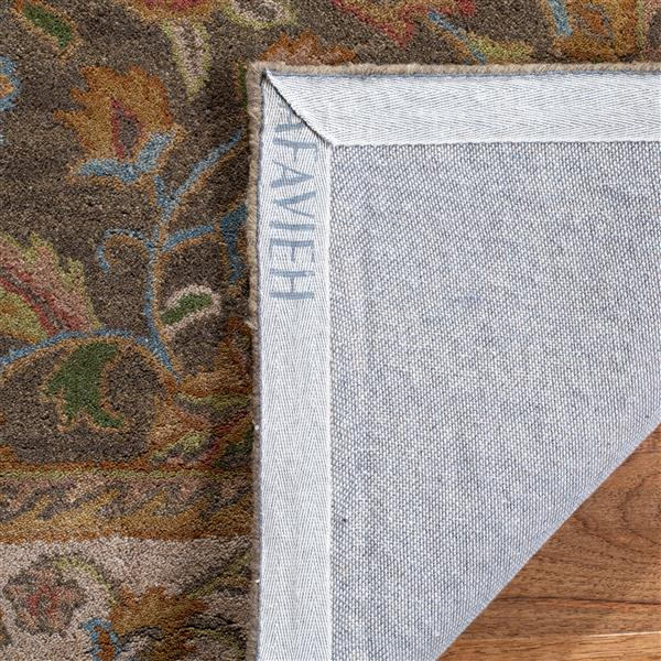 Safavieh Heritage Rug - 8' x 8' - Wool - Green/Taupe