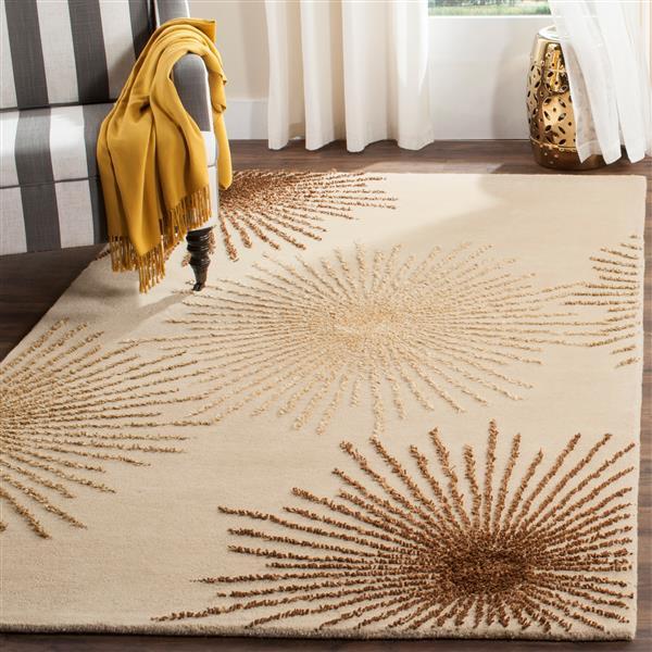 Safavieh Soho Rug - 7.5' x 9.5' - Wool - Beige