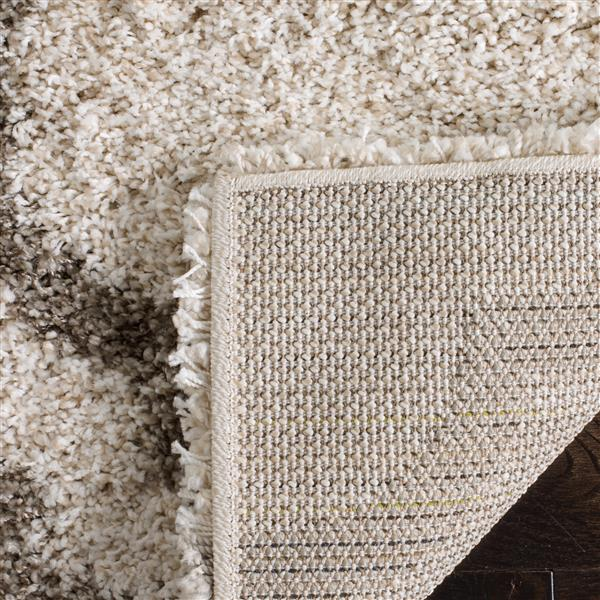 Safavieh Hudson Rug - 8' x 10' - Polypropylene - Ivory/Gray