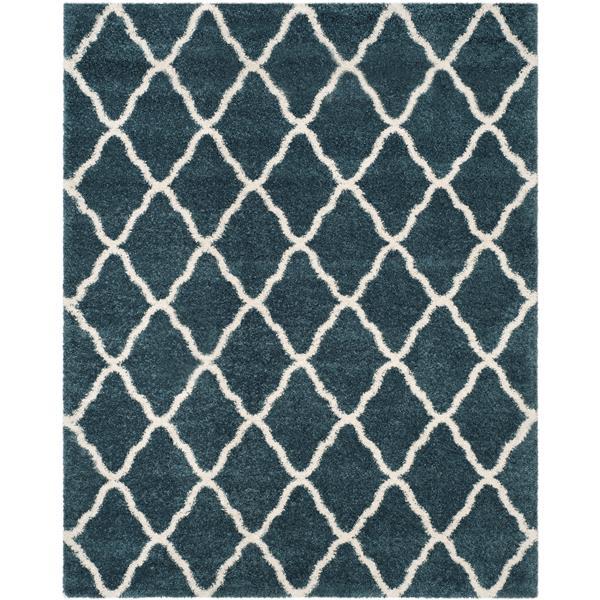 Safavieh Hudson Rug - 8' x 10' - Polypropylene - Slate Blue/Ivory
