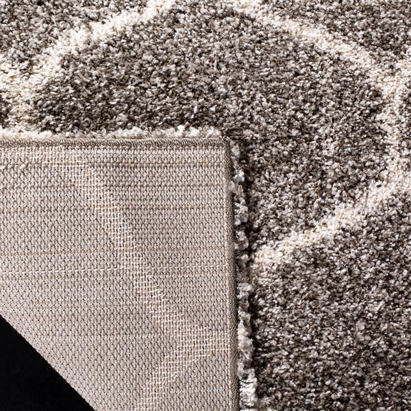 Safavieh Hudson Rug - 8' x 10' - Polypropylene - Gray/Ivory