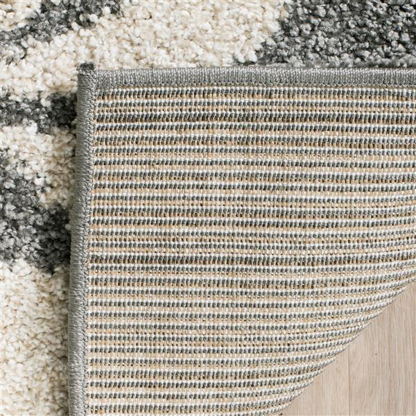 Safavieh Florida Rug - 8' x 10' - Synthetic - Gray/Beige