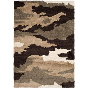 Safavieh Florida Rug - 8' x 10' - Polypropylene - Brown/Beige