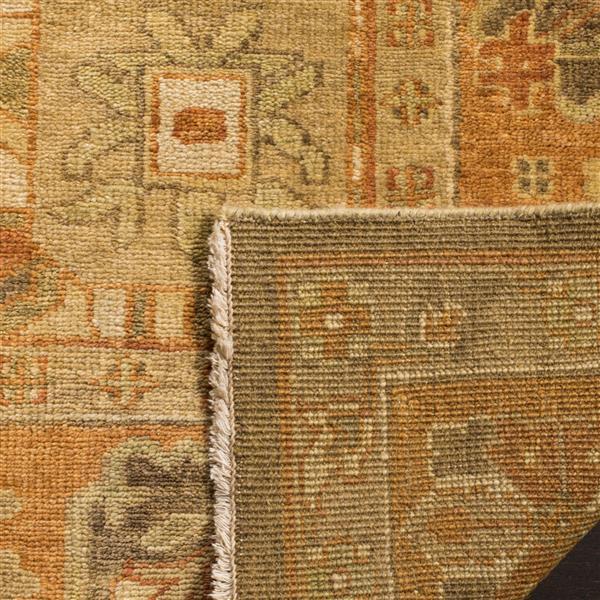 Safavieh Oushak Rug - 9' x 12' - Wool - Brown/Rust