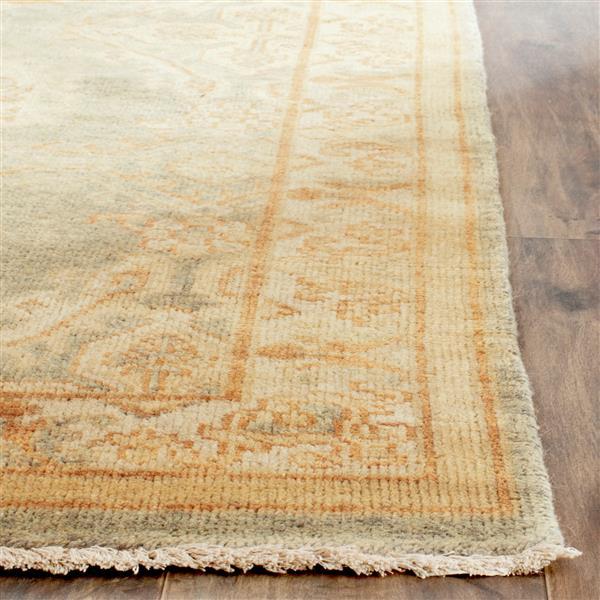 Safavieh Oushak Rug - 9' x 12' - Wool - Gray/Ivory