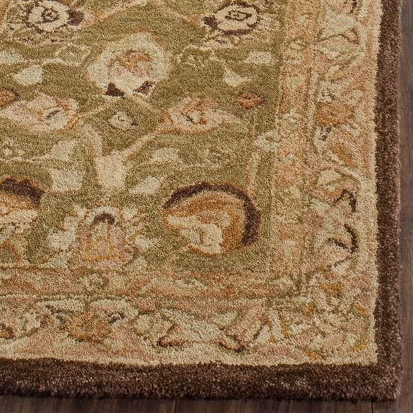 Safavieh Anatolia Rug - 9.5' x 13.5' - Wool - Sage/Beige