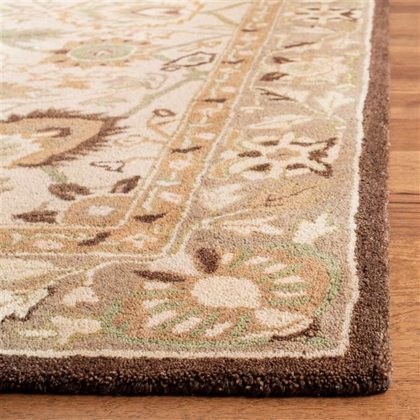 Safavieh Anatolia Rug - 9.5' x 13.5' - Wool - Ivory/Brown