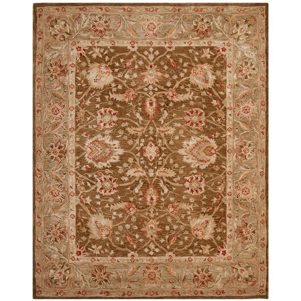 Safavieh Anatolia Rug - 9.5' x 13.5' - Wool - Brown/Green