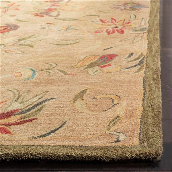 Safavieh Anatolia Rug - 9.5' x 13.5' - Wool - Beige/Green
