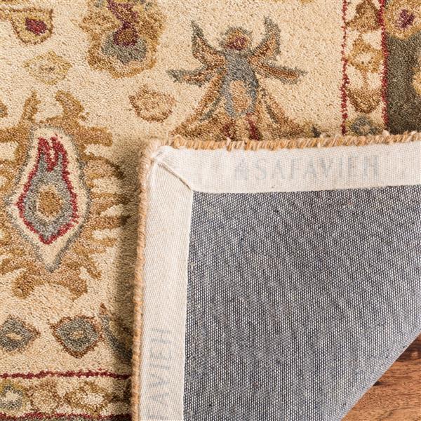 Safavieh Anatolia Rug - 9.5' x 13.5' - Wool - Ivory