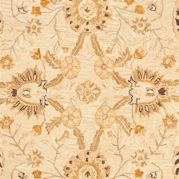 Safavieh Anatolia Rug - 6' x 9' - Wool - Silver/Light Brown