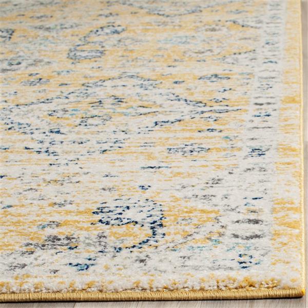 Safavieh Evoke Rug - 4' x 6' - Polypropylene - Gold/Ivory