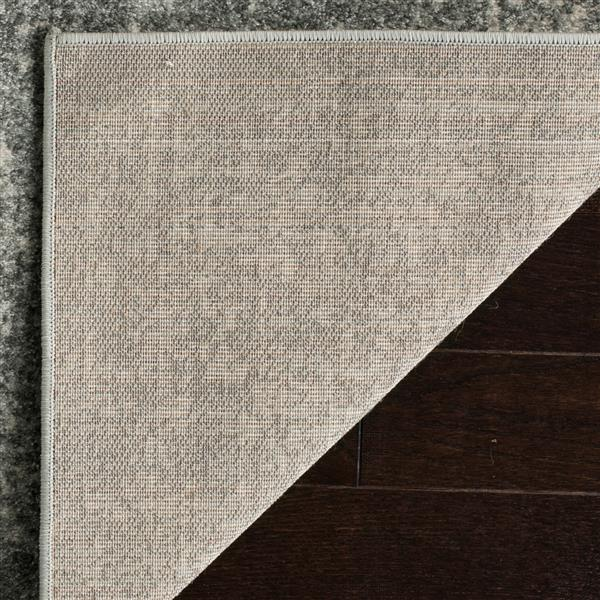 Safavieh Evoke Rug - 3' x 5' - Polypropylene - Silver/Ivory