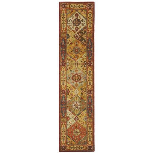 Safavieh Heritage Rug - 2.3' x 8' - Wool - Multicolour