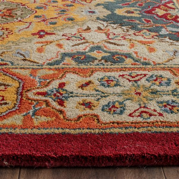 Safavieh Heritage Rug - 3' x 5' - Wool - Multicolour