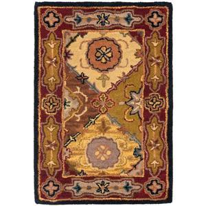 Heritage Rug - 2.3' x 4' - Wool - Multicolour