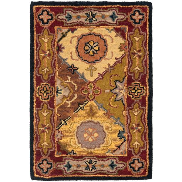 Safavieh Heritage Rug - 2' x 3' - Wool - Multicolour