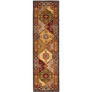 Heritage Rug - 2.3' x 8' - Wool - Multicolour