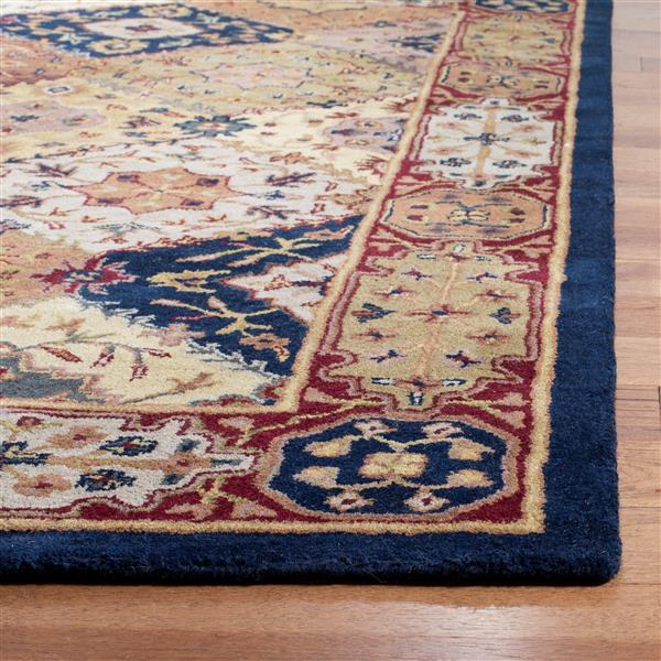 Safavieh Heritage Rug - 3.5' x 3.5' - Wool - Multicolour