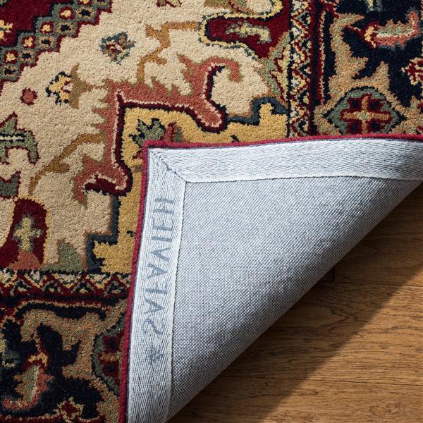 Safavieh Heritage Rug - 3' x 5' - Wool - Red