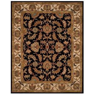 Heritage Rug - 11' x 17' - Wool - Black/Beige