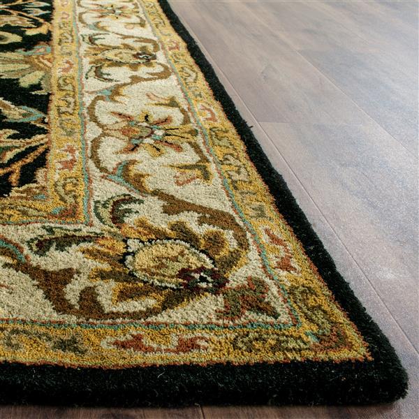 Safavieh Heritage Rug - 2' x 3' - Wool - Black/Beige