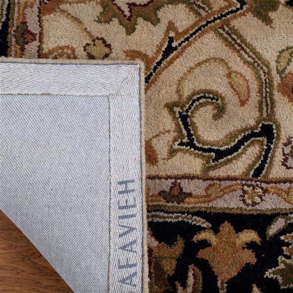 Safavieh Heritage Rug - 3' x 5' - Wool - Ivory/Black