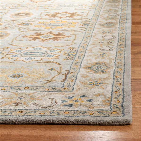 Safavieh Heritage Rug - 2' x 3' - Wool - Light Gray