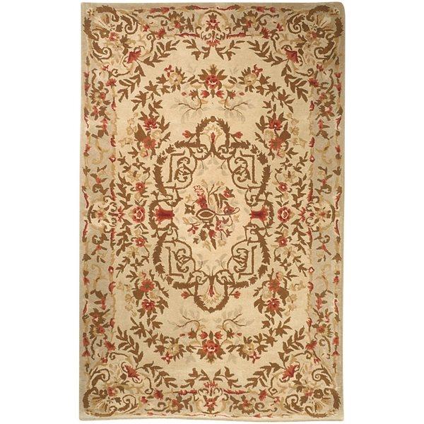Safavieh Heritage Rug - 4' x 4' - Wool - Sage