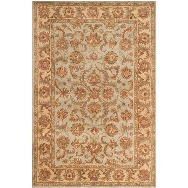 Safavieh Heritage Rug - 12' x 15' - Wool - Green/Gold