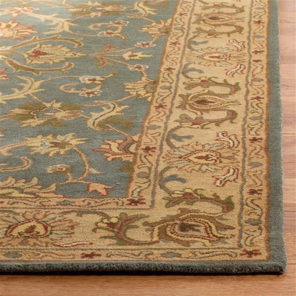 Safavieh Heritage Rug - 11' x 15' - Wool - Blue/Beige