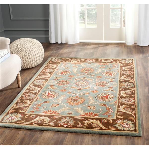 Safavieh Heritage Rug - 2.3' x 4' - Wool - Blue/Brown