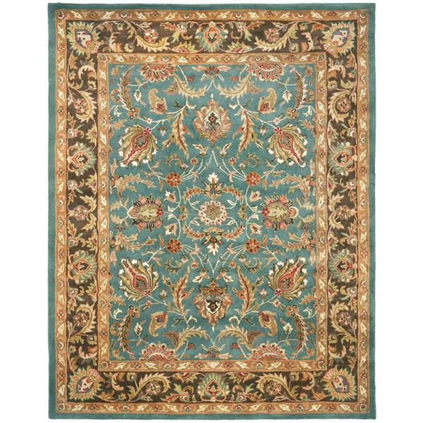 Safavieh Heritage Rug - 12' x 18' - Wool - Blue/Brown