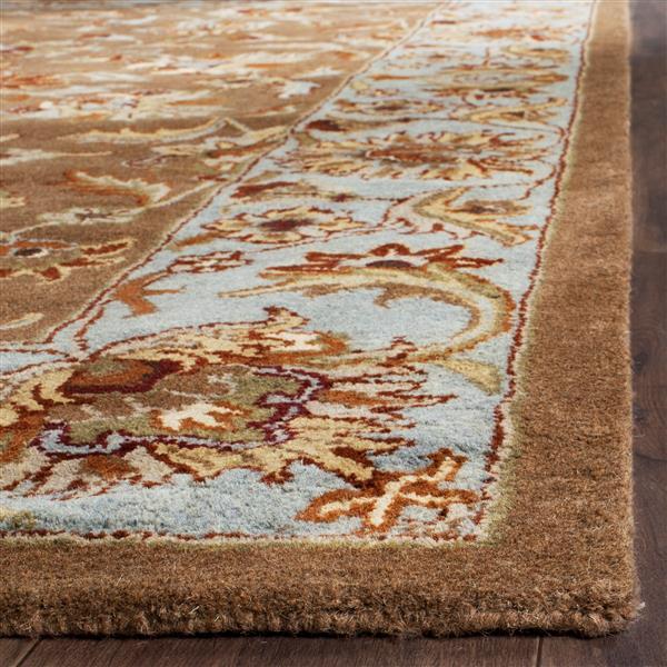 Safavieh Heritage Rug - 2.3' x 4' - Wool - Beige/Blue