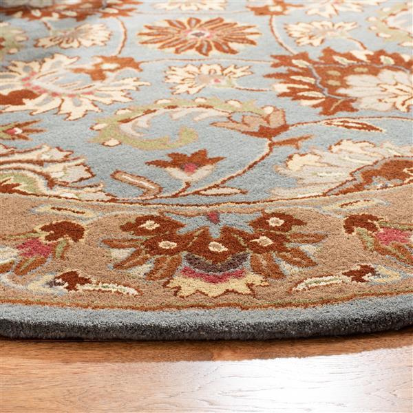 Safavieh Heritage Rug - 2.3' x 4' - Wool - Blue/Beige