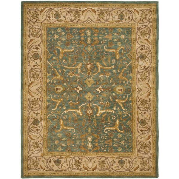 Safavieh Heritage Rug - 11' x 17' - Wool - Blue/Beige