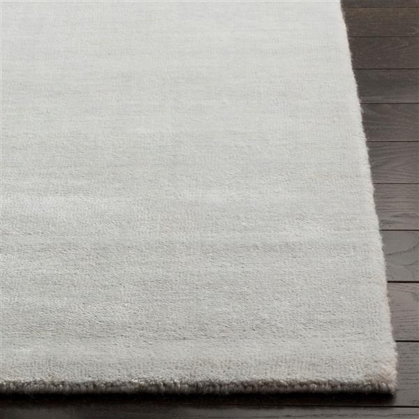 Safavieh Mirage Rug - 6' x 9' - Silk - Silver/Gray