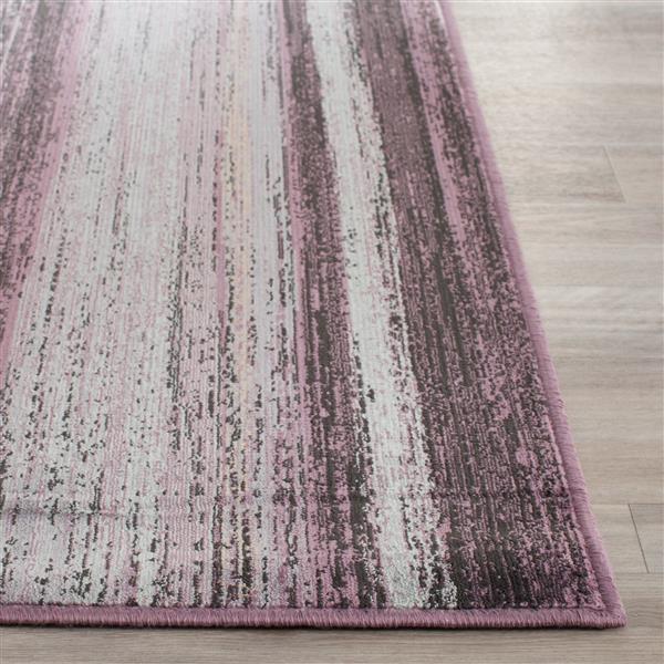 Safavieh Vintage Abstract Rug - 8.8' x 12.2' - Viscose - Charcoal