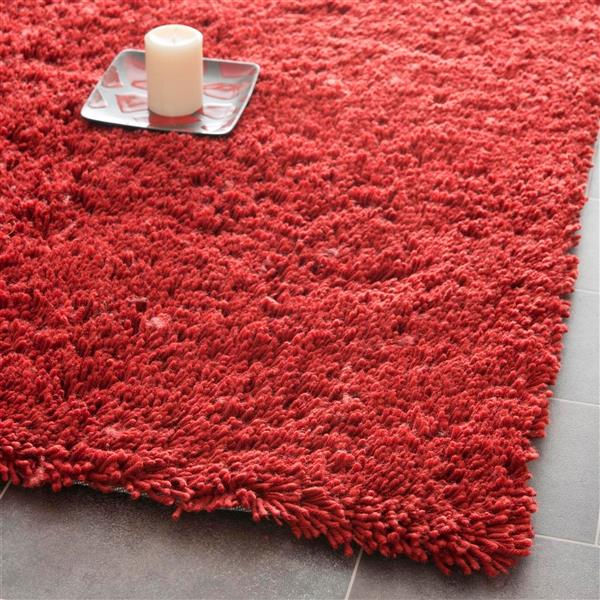 Safavieh Shag Rug - 8.5' x 11.5' - Polyester - Rust