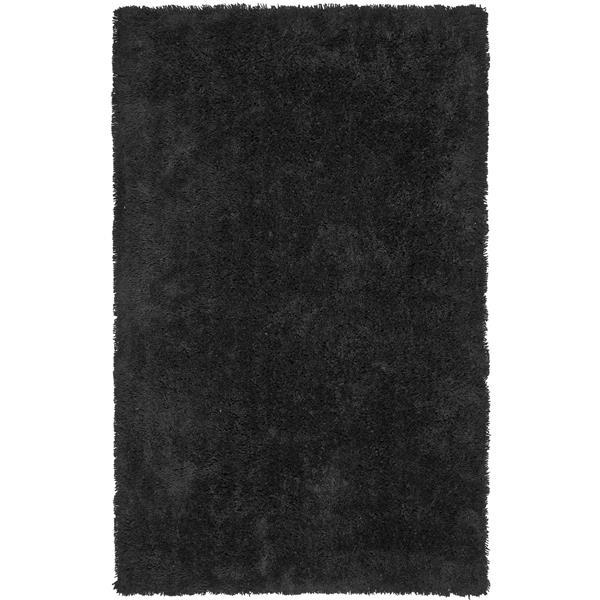 Safavieh Shag Rug - 8.5' x 11.5' - Polyester - Black