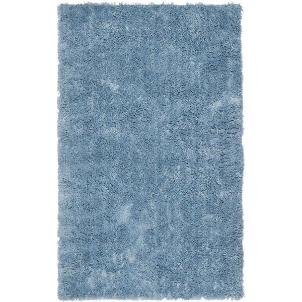 Safavieh Shag Rug - 8.5' x 11.5' - Polyester - Light Blue
