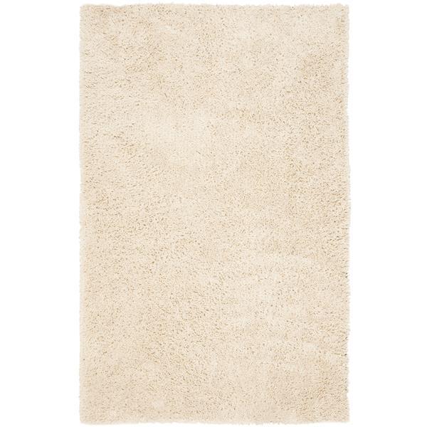 Safavieh Shag Rug - 8.5' x 11.5' - Polyester - White