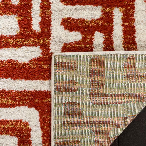 Safavieh Amsterdam Rug - 6.6' x 6.6' - Polypropylene - Terracotta
