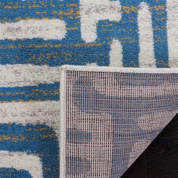 Safavieh Amsterdam Rug - 6.6' x 6.6' - Polypropylene - Light Blue