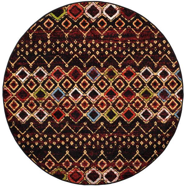 Safavieh Amsterdam Rug - 6.6' x 6.6' - Polypropylene - Multicolour