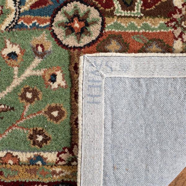 Safavieh Heritage Floral Rug - 2.3' x 8' - Wool - Multicolour