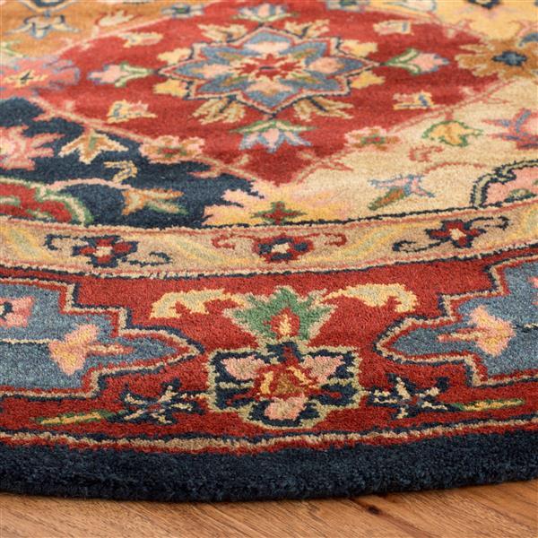 Safavieh Heritage Floral Rug - 2.3' x 6' - Wool - Multicolour