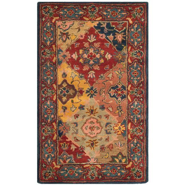 Safavieh Heritage Floral Rug - 3' x 5' - Wool - Multicolour