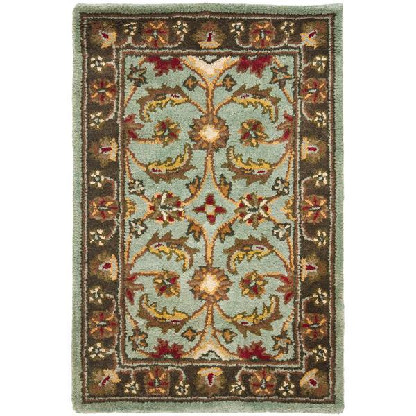 Safavieh Heritage Floral Rug - 2' x 3' - Wool - Blue/Brown